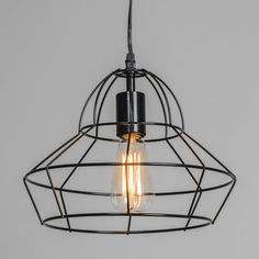 Lampa wisząca Frame D czarna