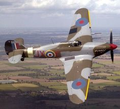 Hawker Hurricane in 1 Sqn markings JX-E in 2004 Ww2 Aircraft, Fighter Aircraft, Military Aircraft, Fighter Jets, Military Jets, Military Weapons, Hawker Hurricane, The Spitfires, Supermarine Spitfire