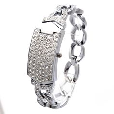 Cheap Women's Watches, Buy Directly from China pcs G&D Women Silver Triple Chain Stainless Steel Band Women's Clamshell Rhinestone Quartz Analog Wrist Watches Bracelet Clasps, Bracelet Watch, Cheap Watches, Wrist Watches, Women's Watches, Stainless Steel Case, Cool Things To Buy, Quartz, Chain
