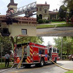 FEATURED POST   @canmanff -  Today's fire in a 6000 sqft single family. #WPFD  At approximately 11:00 hours this morning WPFD units responded to a working structure fire in a large residential home on The 1600 block of Temple Drive.  Engine 64 arrived on scene first and found fire on the second floor of the home with fire extending into the attic. The crews initiated an aggressive interior attack and were able to confine the fire to the room of origin. A primary search revealed that the home…