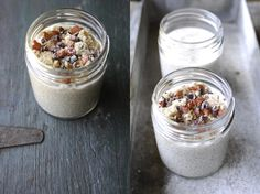 Coconut Cream Breakfast. A raw vegan breakfast which is incredibly luxurious yet really healthy and vibrant. Including the health benefits of Chia Seeds.