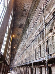 Mansfield Ohio Reformatory. We toured it many years ago. Gives you cold chills, but an interesting place, well worth the time.