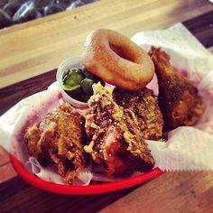 Za'atar fried chicken at Federal Donuts.
