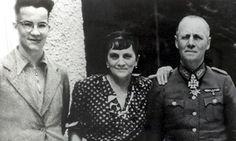 The Rommel family during the second world war: Manfred, left, his mother, Lucie, and field marshal father, Erwin. Photograph: Popperfoto/Get...This Day in WWII History: Feb 12, 1941: Rommel in Africa