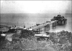 Folkestone -Victoria Pier opened in 1888 and became derelict after the war, it was finally demolished in 1952