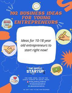 Young Entrepreneurs, Starting A Business, Entrepreneurship, Get Started, Teacher, Student, Social Media, How To Get, Education
