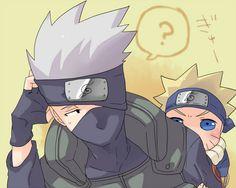 Kakashi Hatake and Naruto Uzumaki - Kakashi Fan Art (36544063) - Fanpop