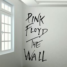 ZN C072 Large Pink Floyd The Wall Mural art sticker decal cut matt vinyl wall decal for living rooom home decoration #Affiliate