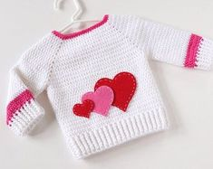 Baby Girl Sweater Baby Cardigans Baby Girl Gift Birthday Gift For Girl Pullover Sweater Crochet Baby Clothing Customized Sweater Baby Girl Clothes baby birthday cardigans Clothing Crochet Customized gift girl pullover sweater Baby Cardigan, Baby Hoodie, Cardigan Bebe, Baby Pullover, Baby Girl Crochet, Crochet Baby Clothes, Baby Outfits, Pull Bebe, Baby Girl Sweaters