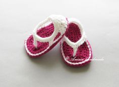 baby sandals, newborn sandals, crochet baby sandals, pink baby sandals, baby summer shoes, crochet baby shoes, baby girl sandals, girl shoes by Amaiahandmade on Etsy