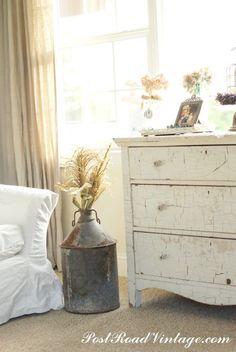 Farmhouse style furniture finish