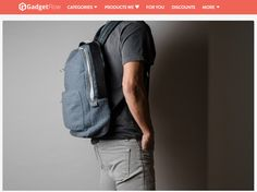 Stand out from the crowd with the Misfit Wool Backpack by Hard Graft. Using their classic backpack design, this bag is made with superbly tough yet ultra