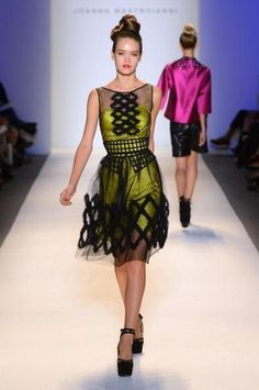 This dress is so sassy, I love it! Joanna Mastroianni Spring 2013 Collection NY Fashion Week