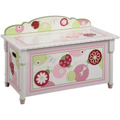 Furniture > Bedroom Furniture > Box > Painted Wooden Box