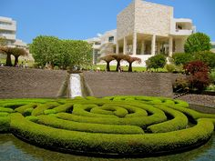 The Getty Center. One of my favorite places to visit in Los Angeles. Beautiful art, architecture and gardens!