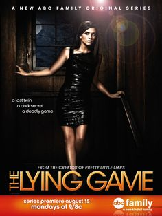"Our features editor, Alyssa Guzman love ""The Lying Game."" Did you know that the author of ""Pretty Little Liars"" also wrote the book series for ""The Lying Game. Alexandra Chando, The Lying Game, Family Show, Abc Family, Movies Showing, Movies And Tv Shows, Series Movies, Tv Series, Game Poster"
