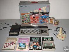 Sony MSX computer