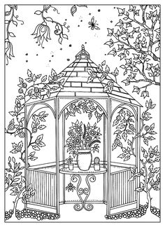 To print this free coloring page «coloring-adult-kiosk-guarden», click on the printer icon at the right