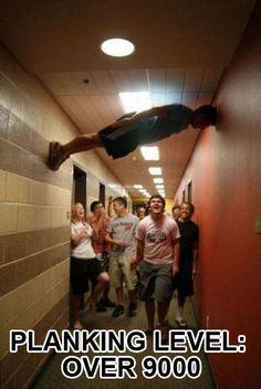 planking level 9000