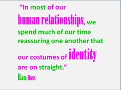 About human relationships