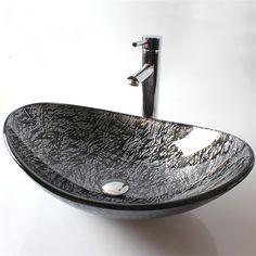 彩色上絵洗面ボウル 洗面台 洗面器 手洗器 手洗い鉢 排水金具付 楕円形 HAM016