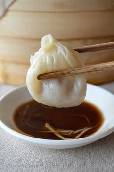 Shanghai Steamed Soup Dumplings (Xiaolongbao) by The Woks of Life Asia Food, Wan Tan, Asian Recipes, Ethnic Recipes, Indonesian Recipes, Orange Recipes, Snacks Saludables, Yummy Food, Tasty