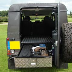 1.1m Goliath Land Rover Defender Load Area Store Drawer - Mobile Storage Systems…