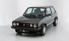 1983 vw Golf Gti / childhood memories See more about and Golf. Volkswagen Golf Mk1, Volkswagen New Beetle, Golf 1, My Dream Car, Dream Cars, Vw Corrado, Vw Cars, Car In The World, Car Pictures