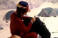 Lene Camp I Everest 1996