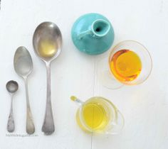 DIY: spa pedicure & cuticle oil