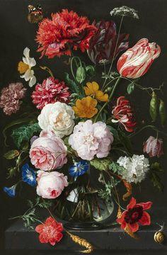 Blommor Rosor Konst fototapet/tapet från Happywall