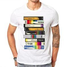 Audio Cassette 3D Logo T-Shirt on We Heart It a1afb2d83c7
