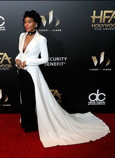 Janelle Monáe in Georges Chakra, 20th Annual Hollywood Film Awards, November 2016