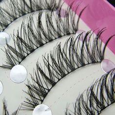 20 Pairs Makeup False Eyelashes Handmade Soft Natural Cross Long Eye Lashes Extension Tools Fake Lashes Mink Cilios Posticos