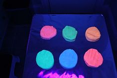 Cool glow in the dark play dough recipes and other awesome ideas on this blog!