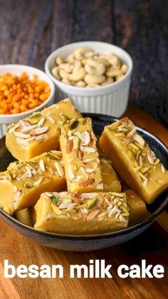 Fun Baking Recipes, Cake Recipes, Milk Recipes, Sweet Recipes, Cooking Recipes, Cooking Cake, Spicy Recipes, Vegan Recipes, Burfi Recipe
