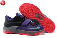 Nike KD 7,VII 653996-535 Cave Purple/Bleached Turquoise-Hyper Grape-Magnet Grey Outlet USA N88ZWU