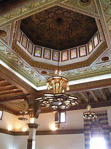 Aleppo - Throne hall of the citadel