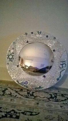 Never ending story Mosaic Mirrors, Mirror Art, Beautiful Homes, Clay, Tableware, Dj, Frames, Handmade, Home Decor
