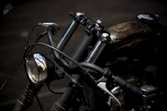 kakimoto: KR 750z Rat Bike Bobber chopper