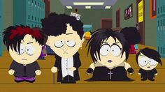The goth kids from South Park.  Awesome!