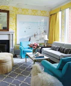 49 Best Bright Living Rooms images in 2019   Room decor, House ...