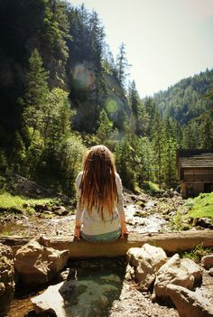 #river #view #nature #dreadlocks #cottage #forest