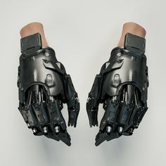 """Gloves, by Mark Chang """""""
