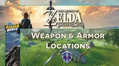 The Legend of Zelda Breath of the Wild Weapon and Armor Locations. List of items and Stats, as well as the Zelda BotW Amiibo Unlocks.