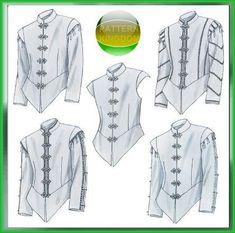 McCalls 4695 Medieval/Renaissance Men's Doublet Patterns