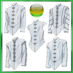 McCalls 4695 Medieval/Renaissance Men's Doublet Patterns
