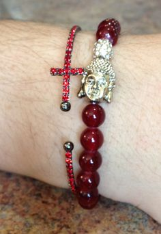 Budha bracelets also in Tiger's Eye