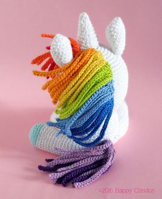 ONLY PDF ENGLISH/ITALIAN CROCHET PATTERN - NOT FINISHED ITEM!!!! This is my first unicorn amigurumi crochet pattern and, believe me, Im very proud of it! Its very simple to make, maybe a little bit long, but definitely fun. Ive used a fingering yarn and my version measures: 4,70 x 3,90
