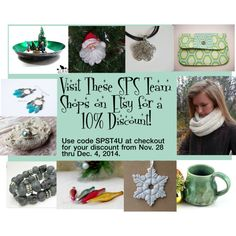 """SPS Team Cyber Week Sale on Etsy!"" by bridgetscollection on Polyvore"